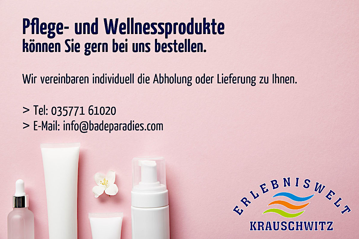 Wellness bestellen - April 2020